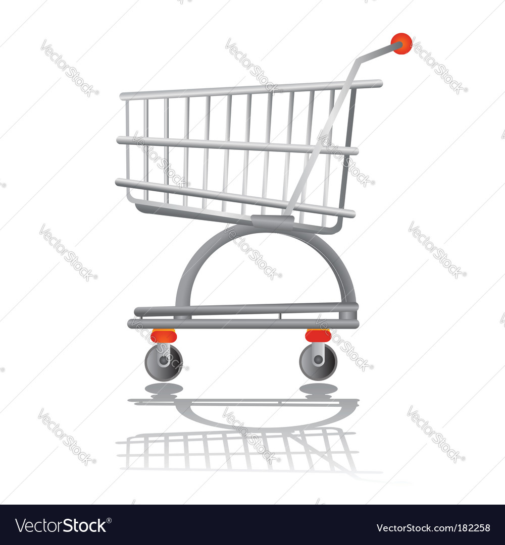 Shopping chart vector | Price: 1 Credit (USD $1)