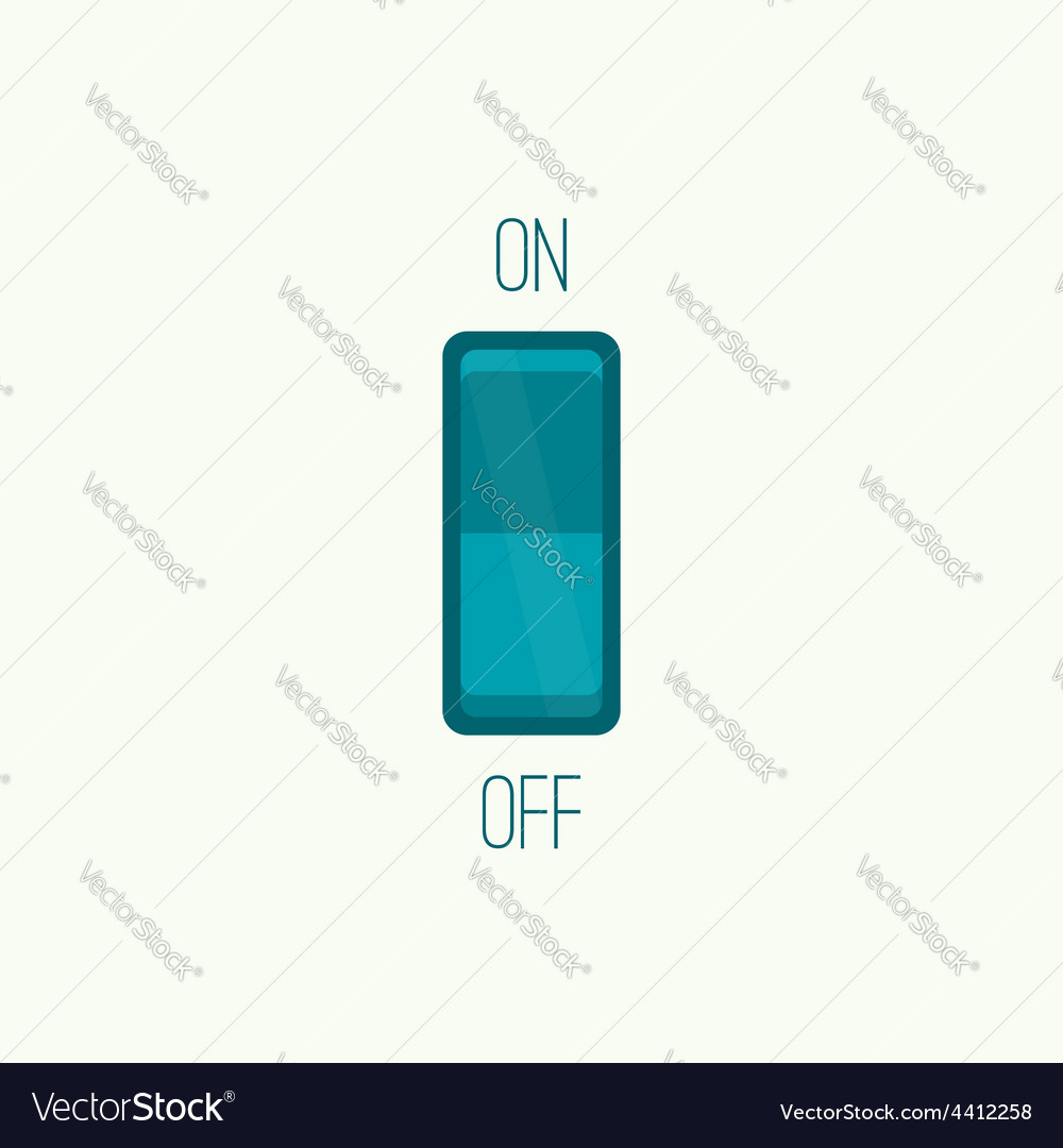 Wall switch vector | Price: 1 Credit (USD $1)