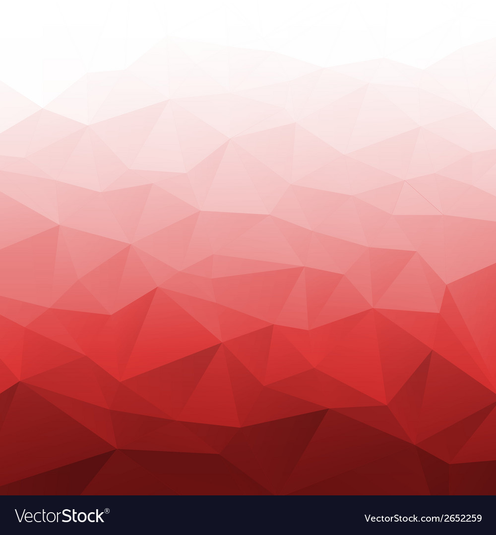 Abstract gradient red geometric background vector | Price: 1 Credit (USD $1)