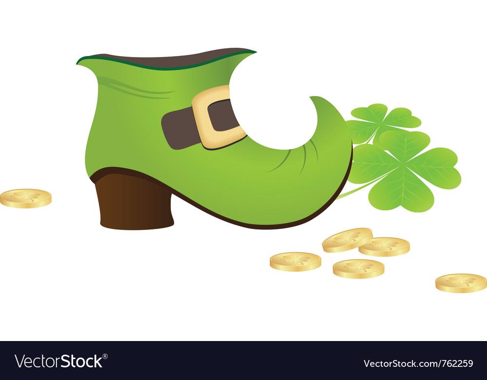 Leprechaun boot vector | Price: 1 Credit (USD $1)