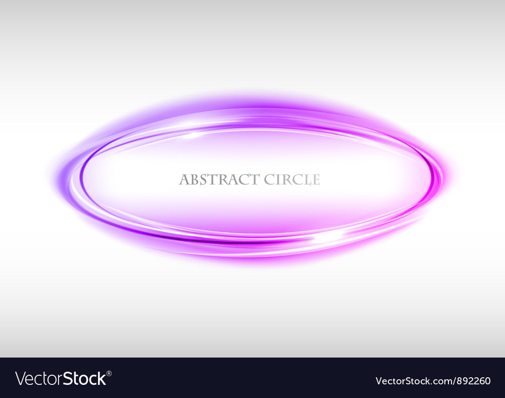 Abstract circle on white purple vector | Price: 1 Credit (USD $1)
