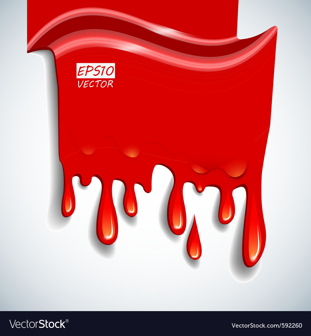 Blood background vector | Price: 3 Credit (USD $3)