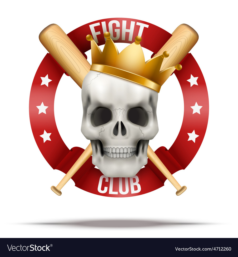 Fight club or team badges and labels logo vector | Price: 3 Credit (USD $3)