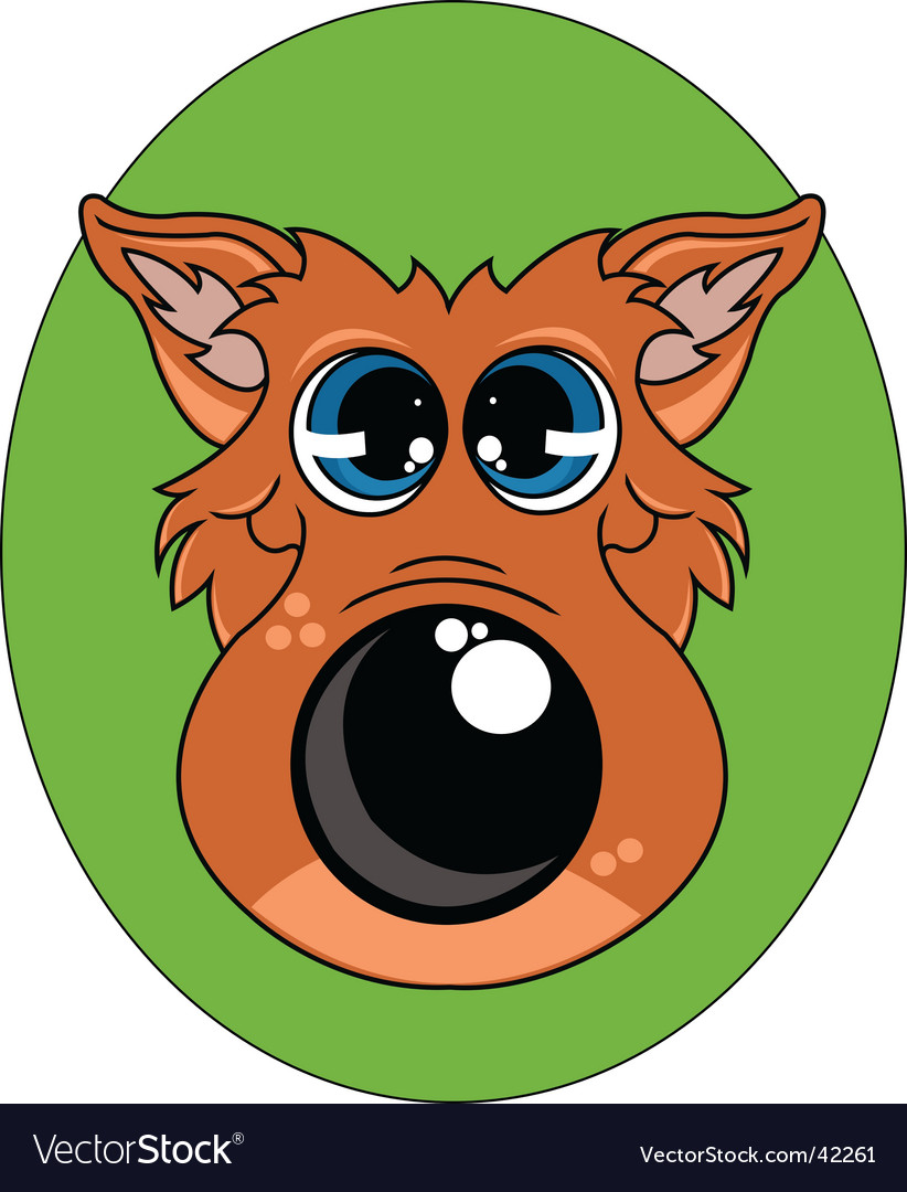 Big bad wolf vector | Price: 1 Credit (USD $1)
