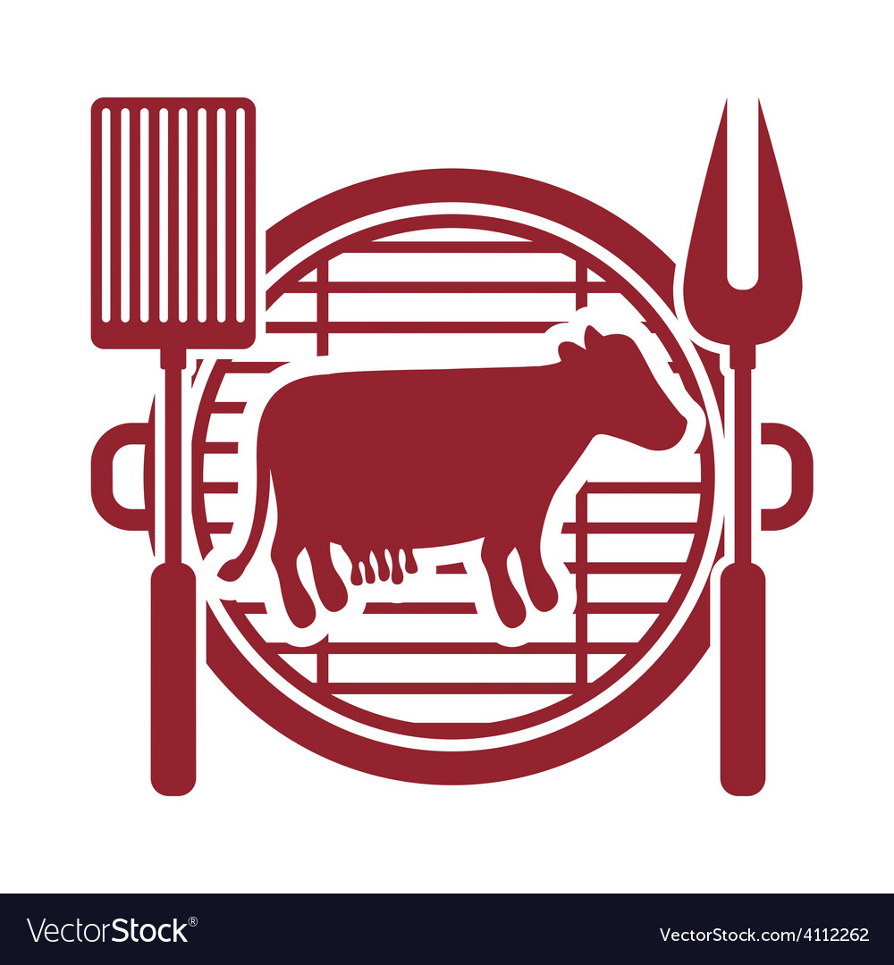 Bbq design vector | Price: 1 Credit (USD $1)