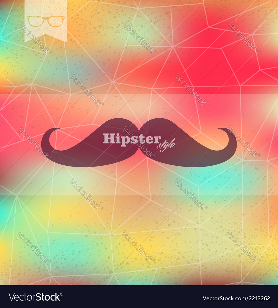 Colorful hipster blurred background vector | Price: 1 Credit (USD $1)