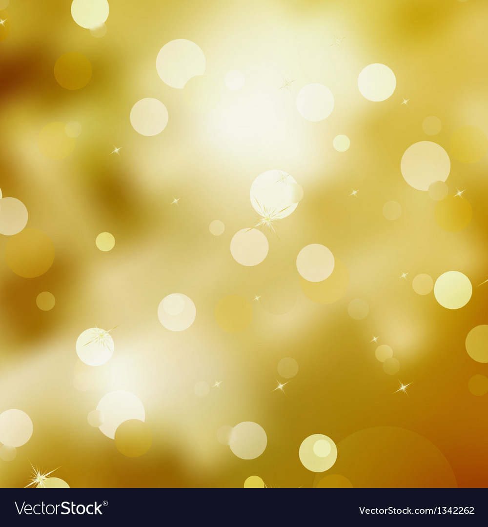 Gold festive christmas background eps 8 vector | Price: 1 Credit (USD $1)
