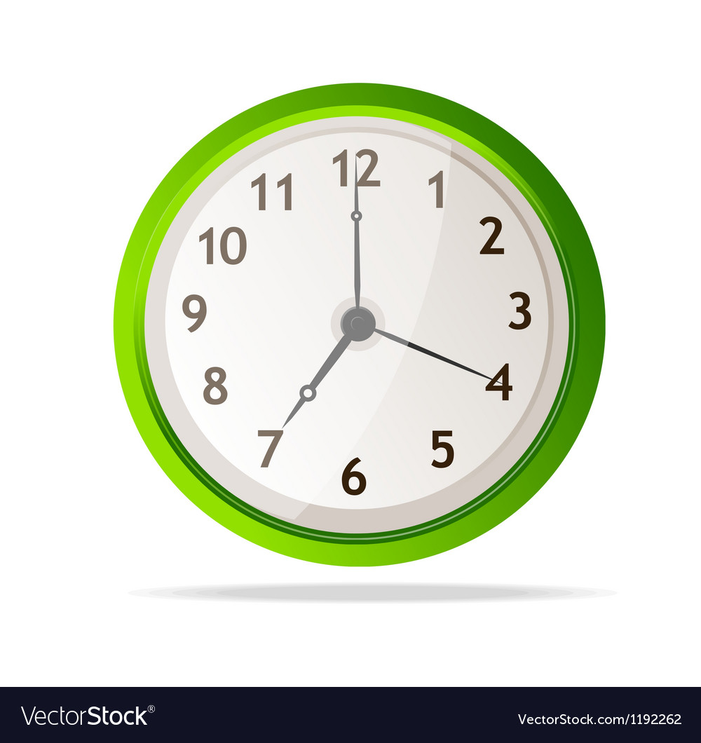 Mechanical clock vector | Price: 1 Credit (USD $1)