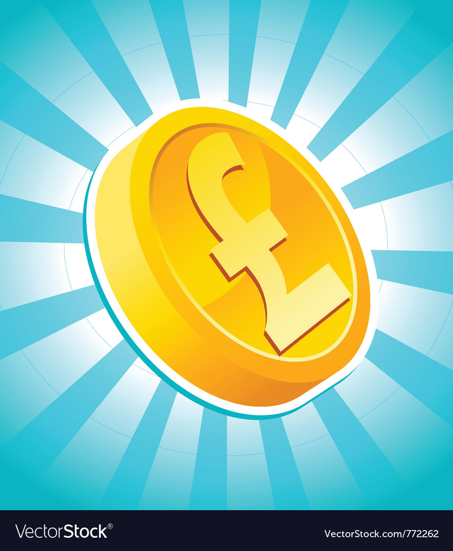 Pound gold coin vector   Price: 1 Credit (USD $1)