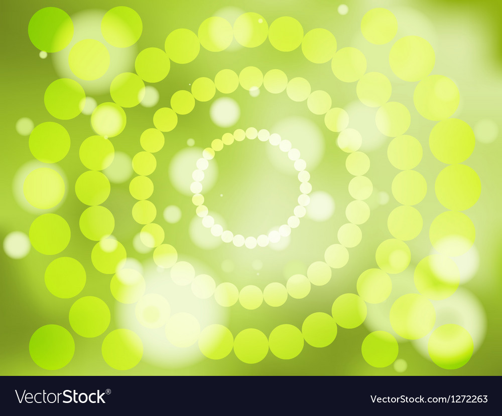 Abstract green soft focus background vector | Price: 1 Credit (USD $1)