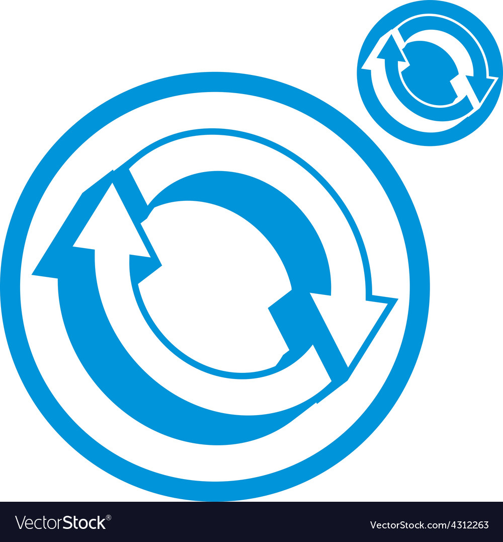 Reload refresh arrows loop simple single color vector   Price: 1 Credit (USD $1)