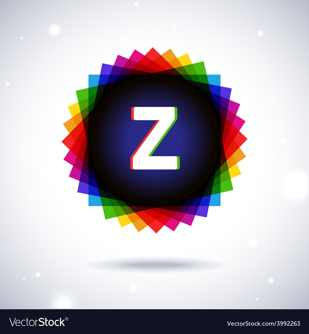 Spectrum logo icon letter z vector | Price: 1 Credit (USD $1)