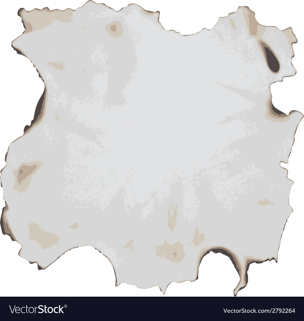 Burnt paper vector | Price: 1 Credit (USD $1)