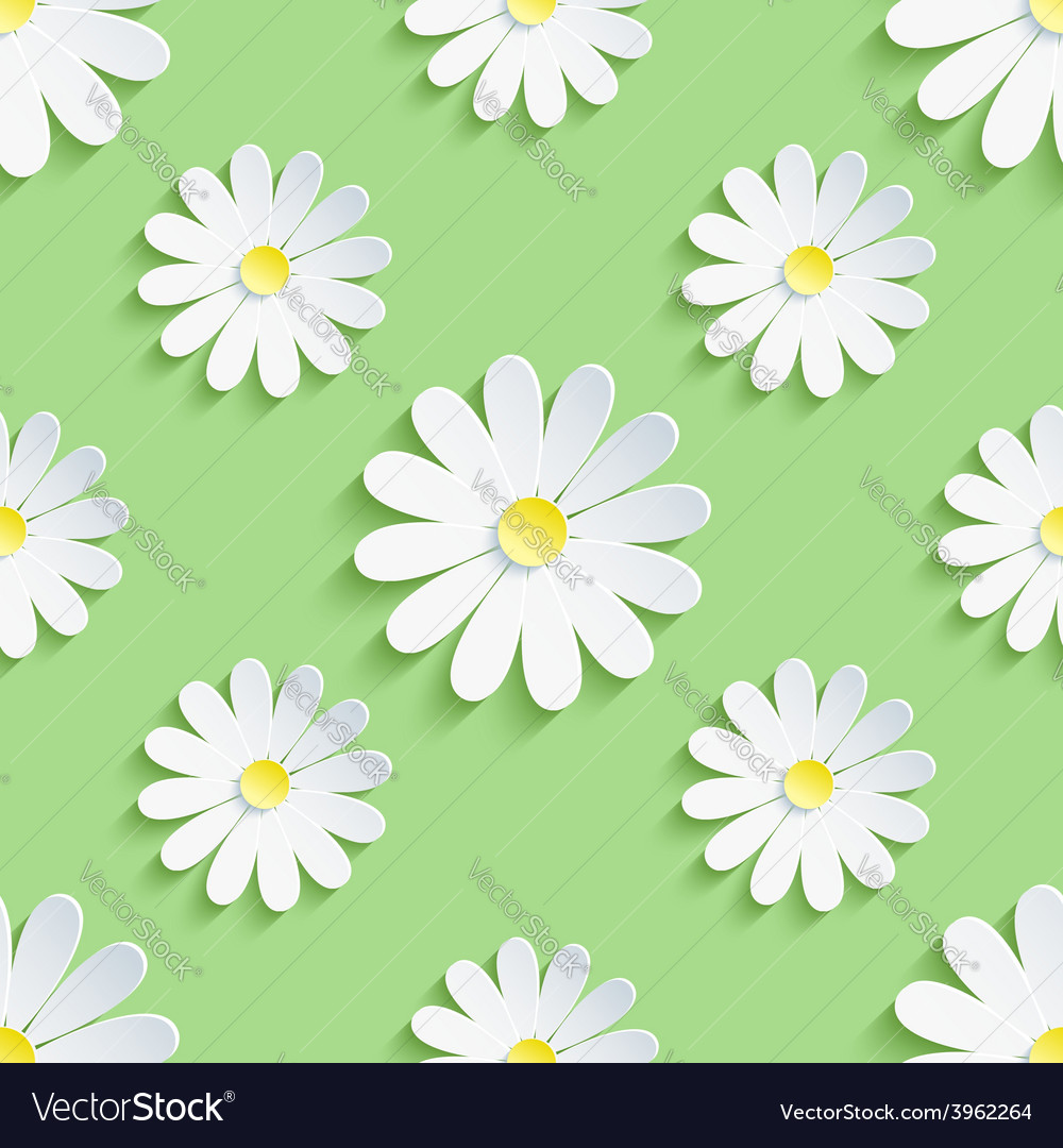 Spring green background seamless pattern with vector | Price: 1 Credit (USD $1)
