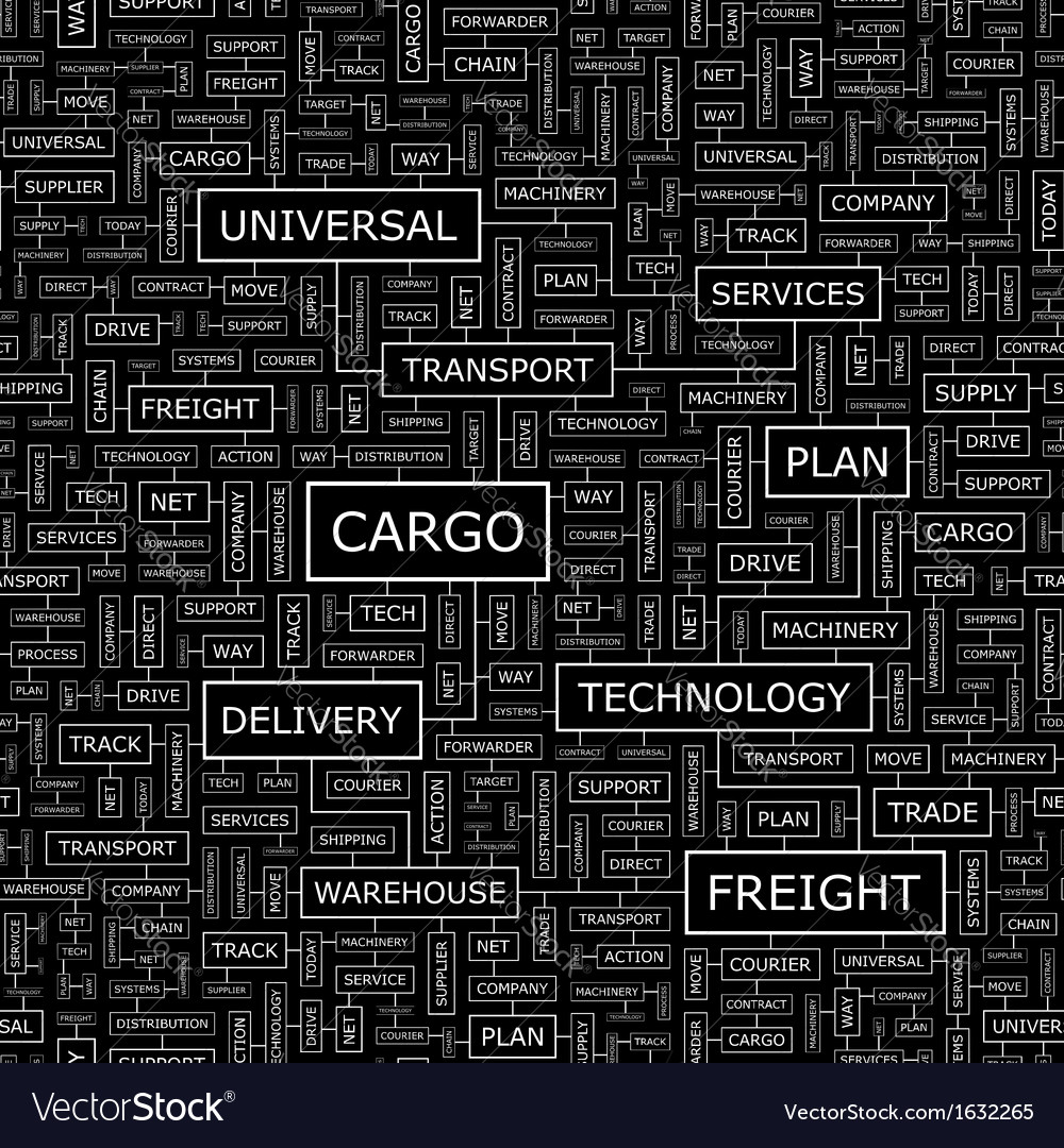 Cargo vector | Price: 1 Credit (USD $1)
