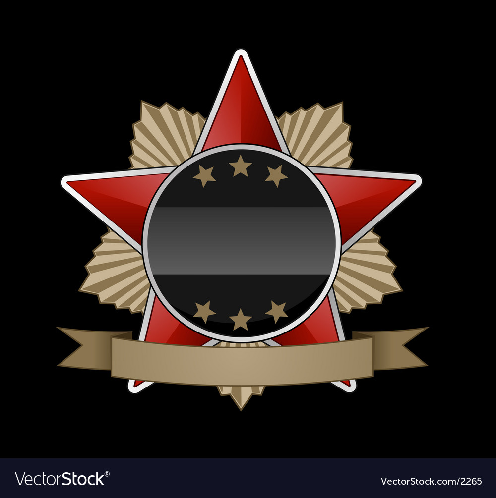 Russian medal vector | Price: 1 Credit (USD $1)