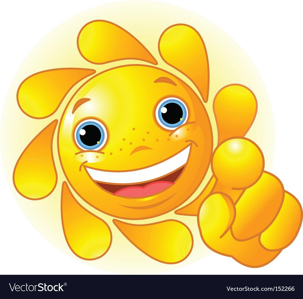 Cute sun vector | Price: 1 Credit (USD $1)