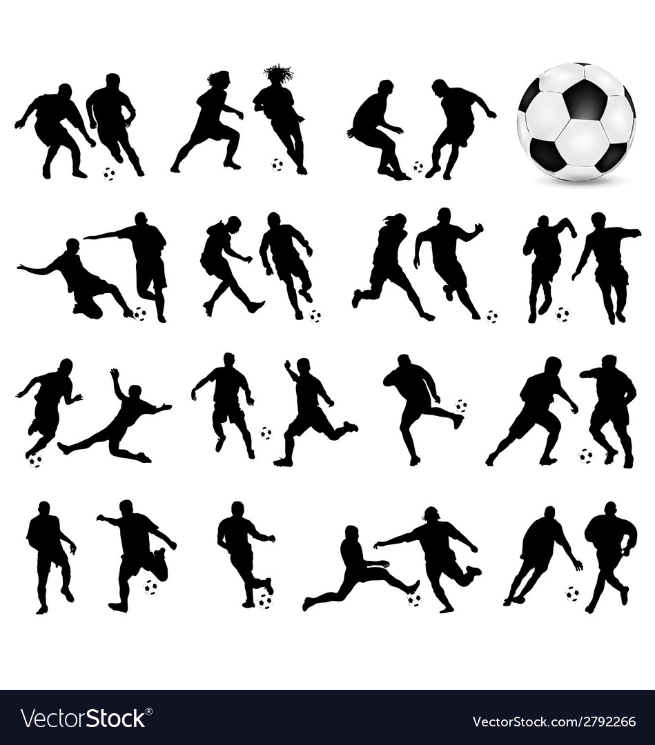 Football 3 vector | Price: 1 Credit (USD $1)