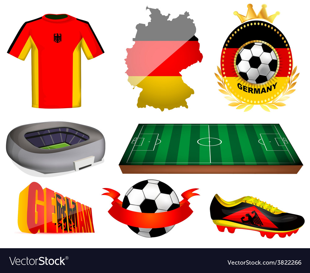 Germany soccer vector   Price: 1 Credit (USD $1)
