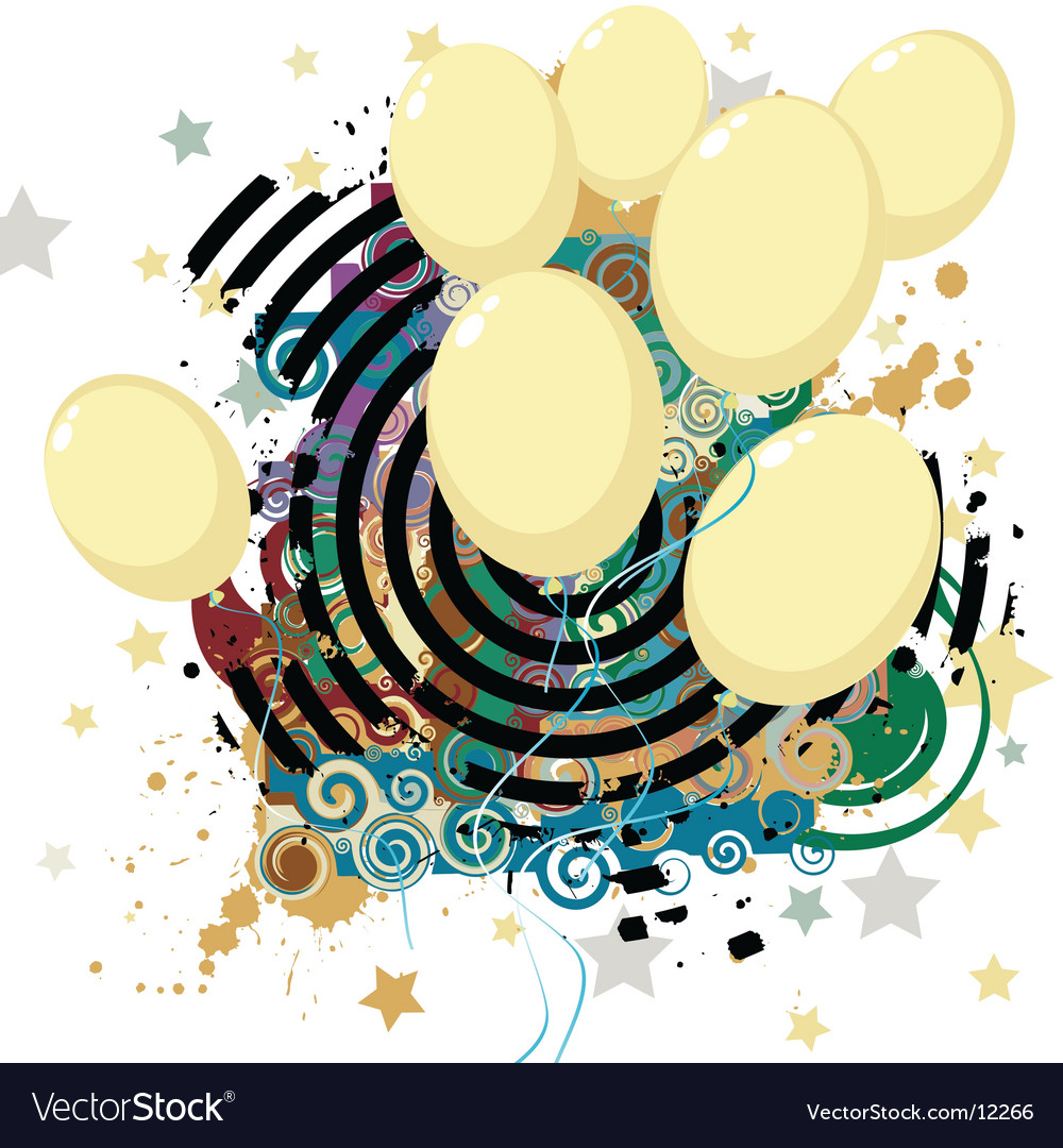 Party illustration vector | Price: 1 Credit (USD $1)