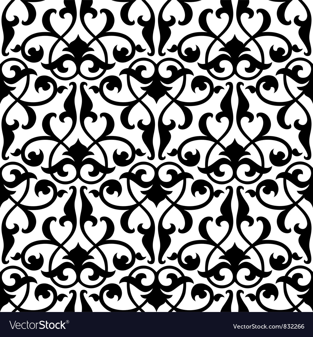 Seamless arabesque pattern vector | Price: 1 Credit (USD $1)