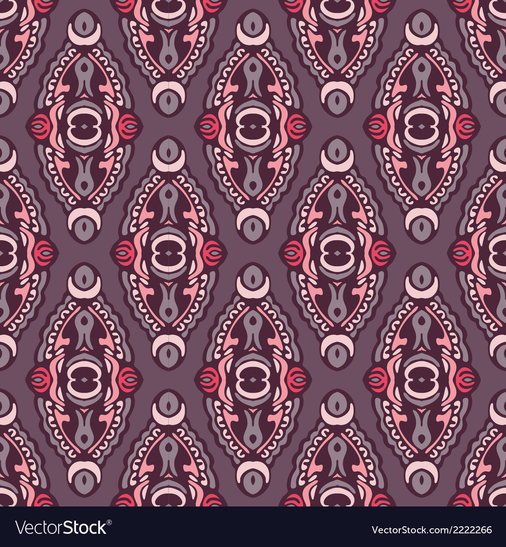 Seamless pattern design vector | Price: 1 Credit (USD $1)