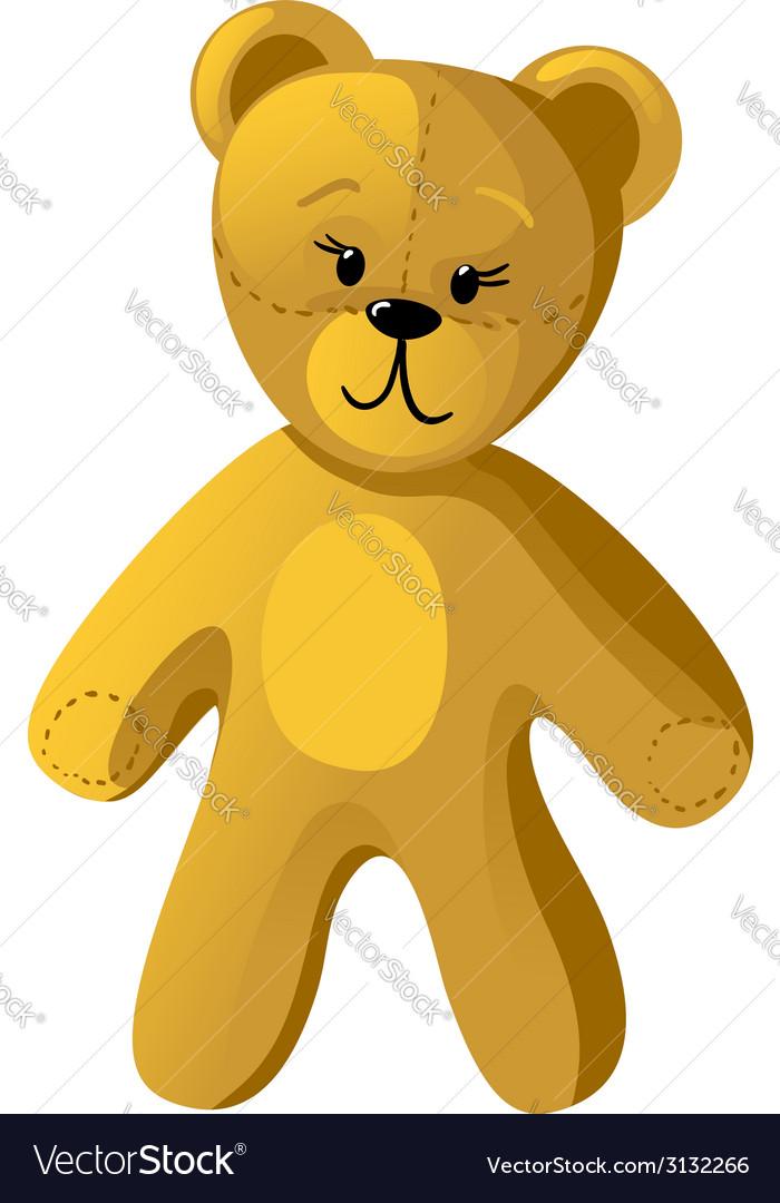 Teddy bear vector   Price: 1 Credit (USD $1)