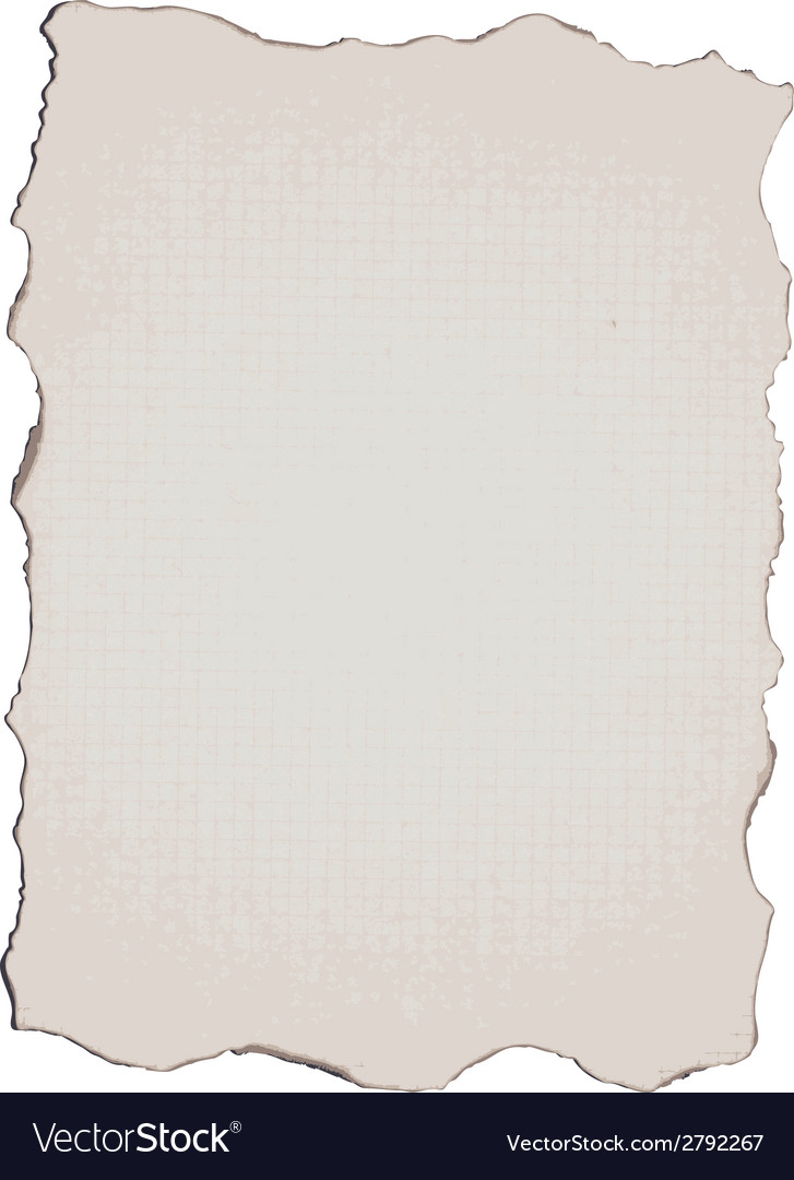 Burnt paper vector | Price: 1 Credit (USD $1)