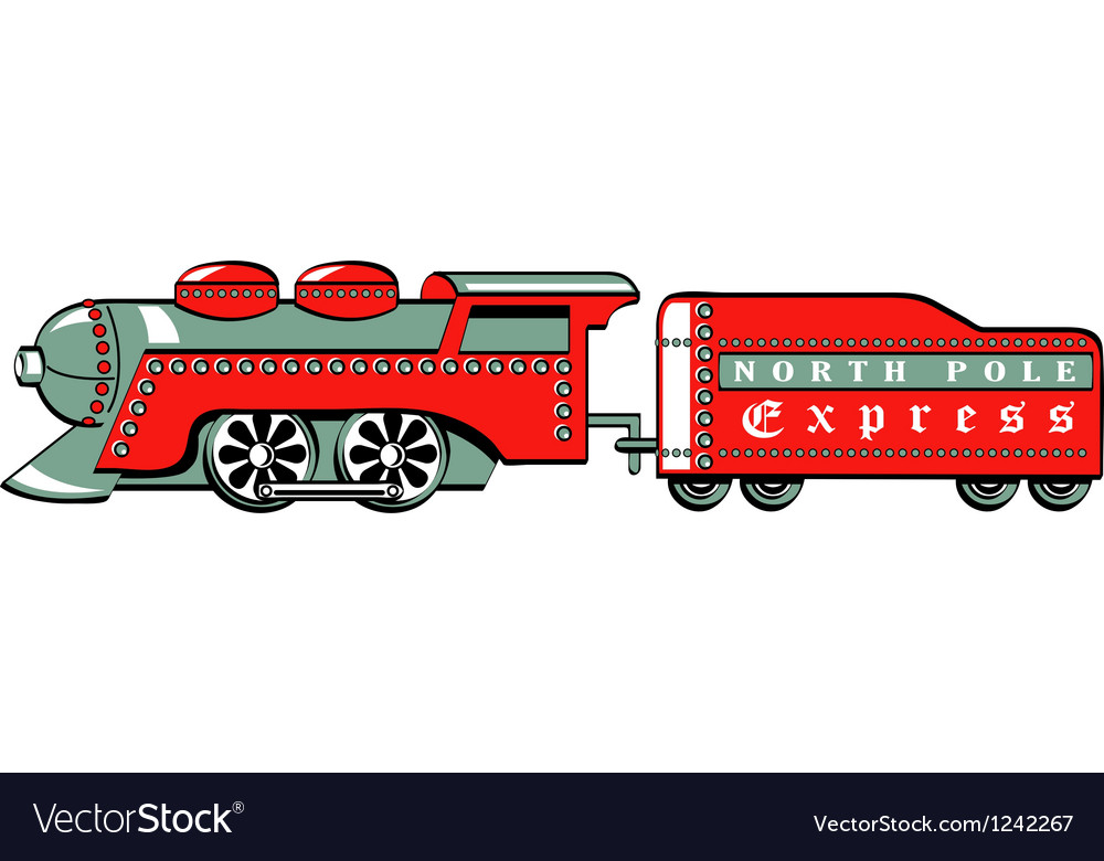 North pole express vector | Price: 1 Credit (USD $1)