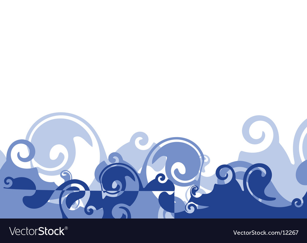Sea illustration vector | Price: 1 Credit (USD $1)