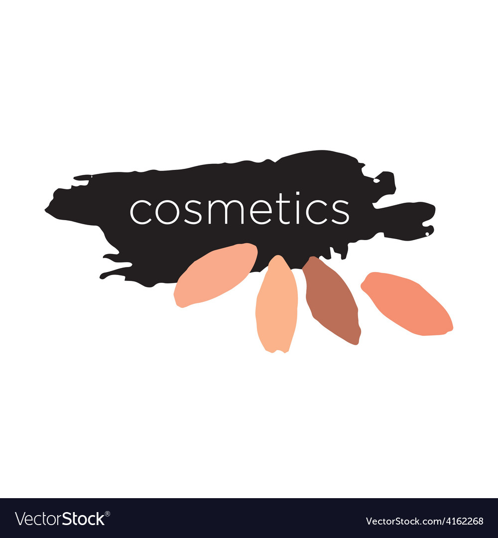 Abstract logo for cosmetics and makeup vector | Price: 1 Credit (USD $1)
