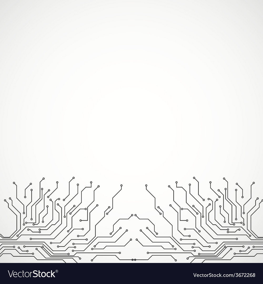 Circuit board background texture vector | Price: 1 Credit (USD $1)