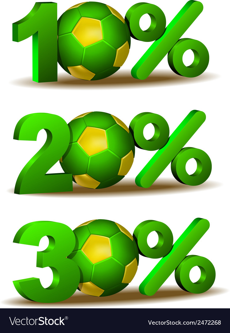 Percent discount icon vector | Price: 1 Credit (USD $1)