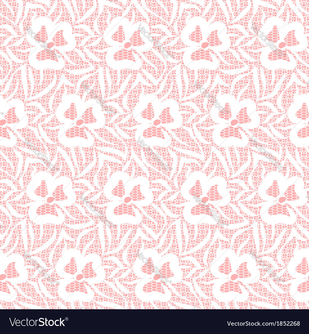 Seamless lacy pattern vector | Price: 1 Credit (USD $1)