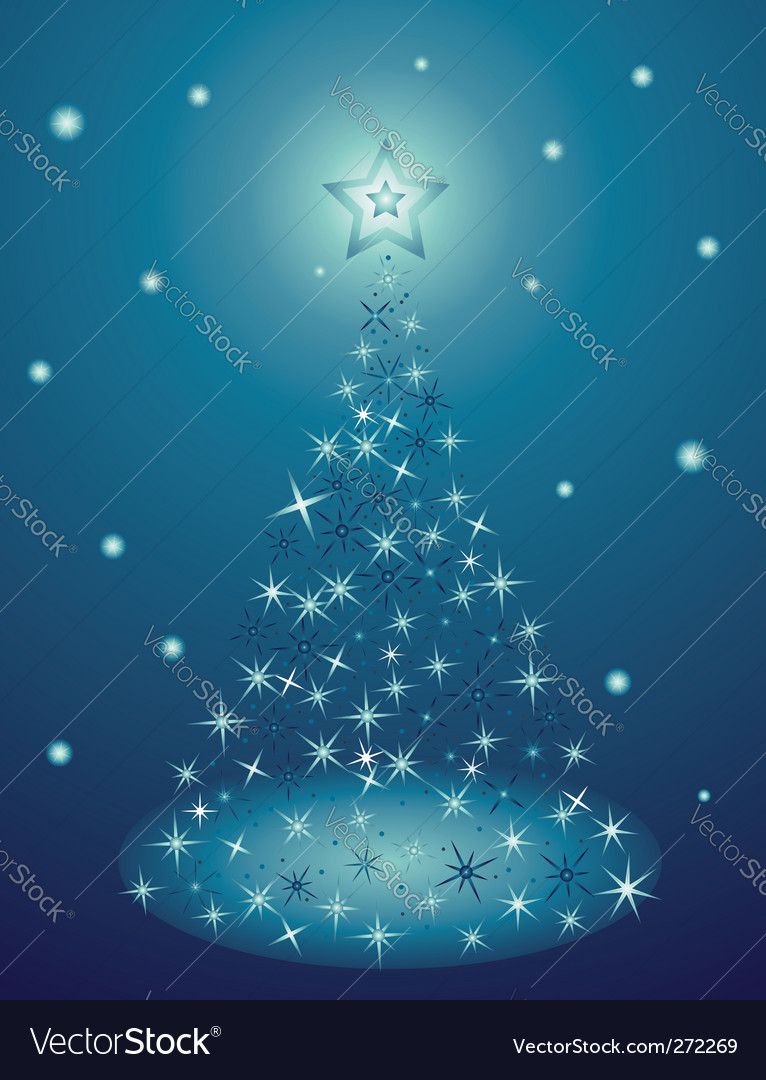 Holiday tree vector | Price: 1 Credit (USD $1)