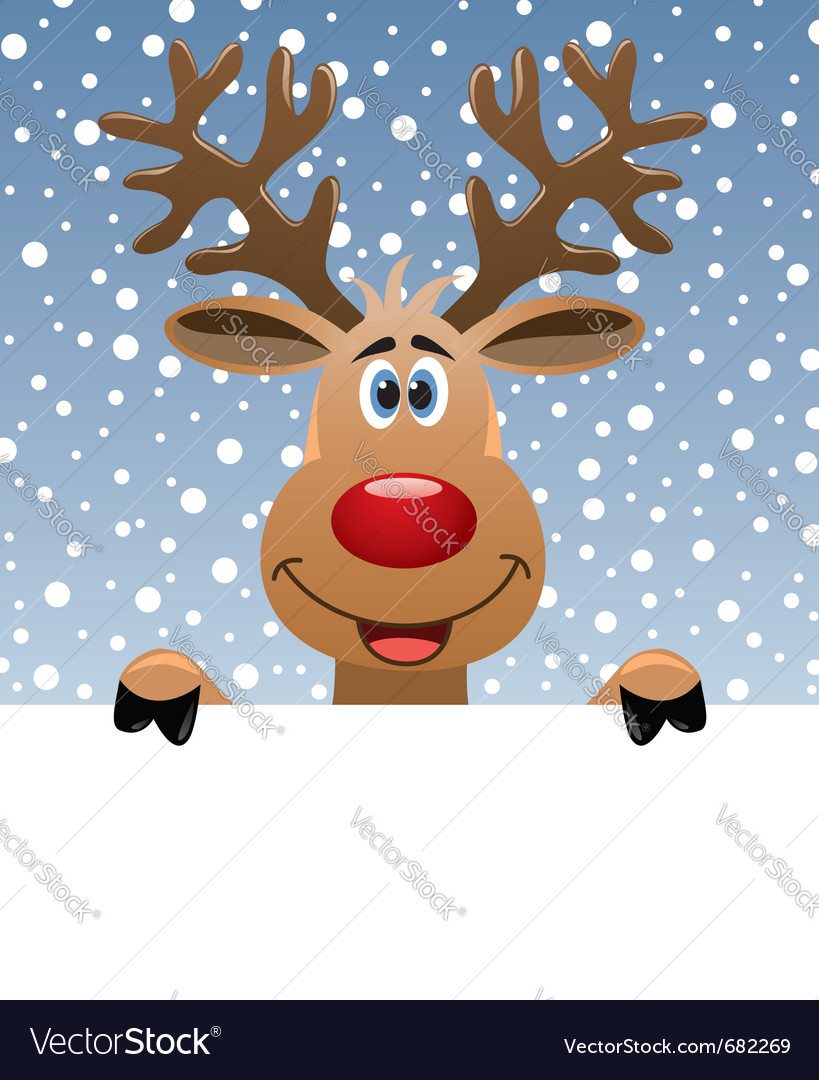 Rudolph vector | Price: 1 Credit (USD $1)
