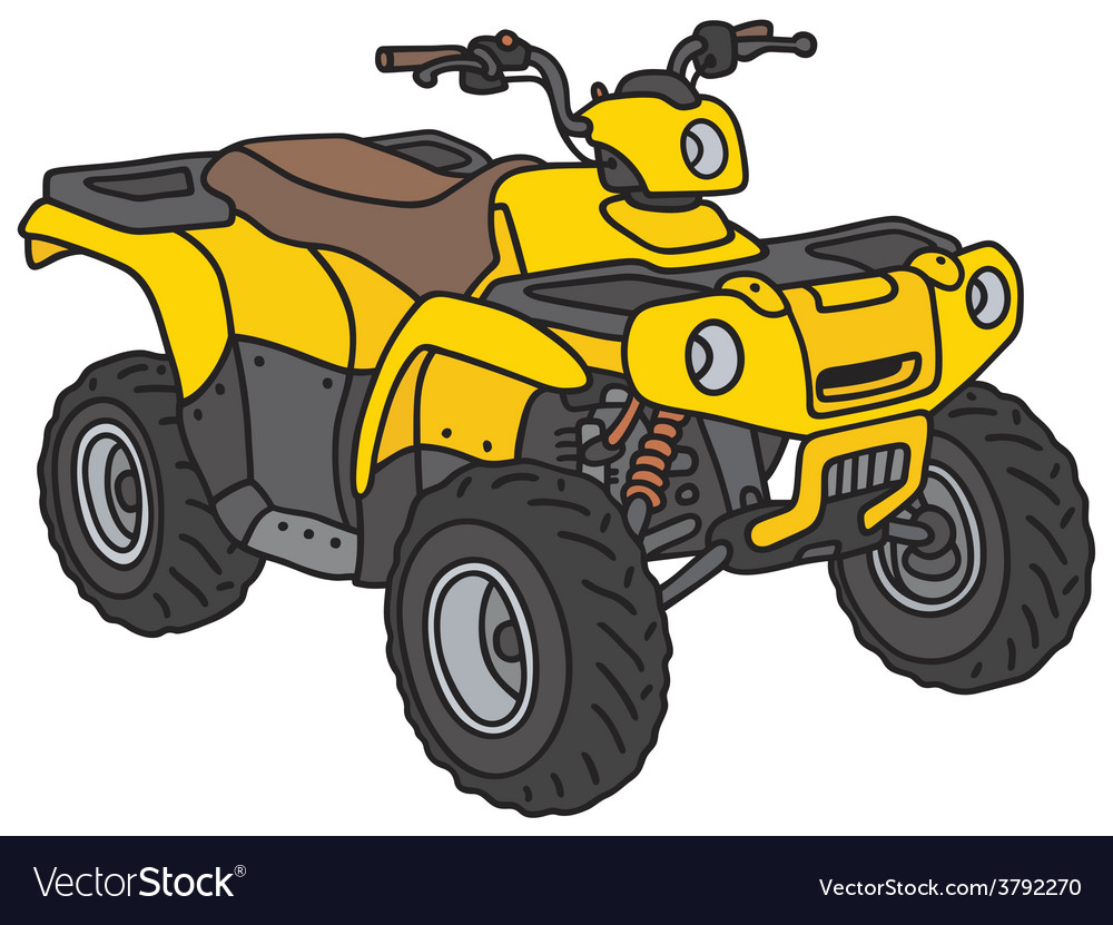 All terrain vehicle vector | Price: 1 Credit (USD $1)