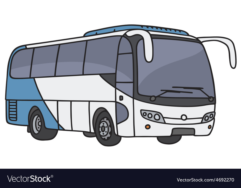 Touristic bus vector | Price: 1 Credit (USD $1)
