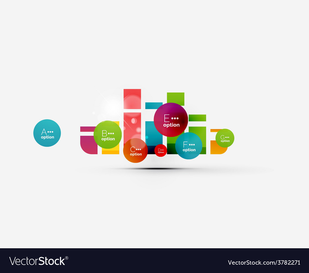 Abstract step infographics business layout vector | Price: 1 Credit (USD $1)