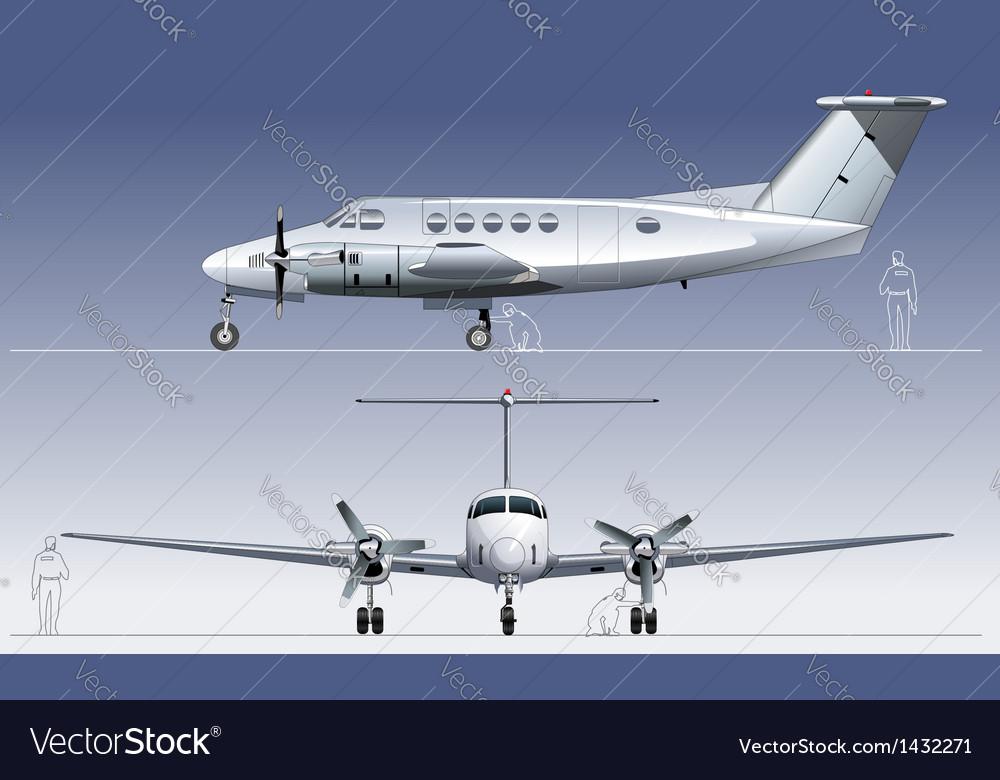 Civil utility aircraft vector