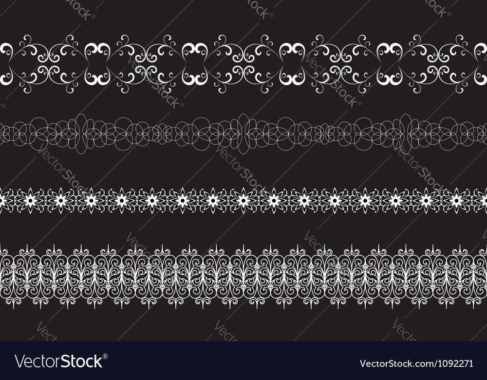 Lace borders vector | Price: 1 Credit (USD $1)