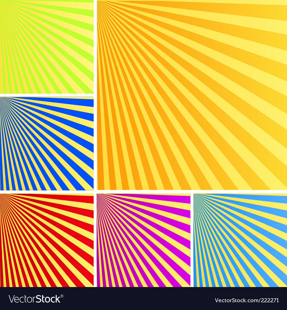 Rays backgrounds vector | Price: 1 Credit (USD $1)