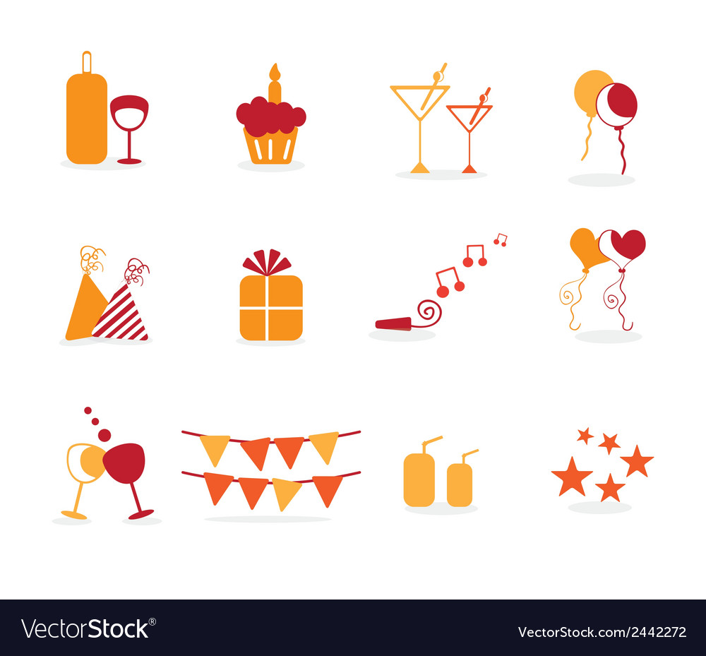 Cake cupcakes icons vector   Price: 1 Credit (USD $1)