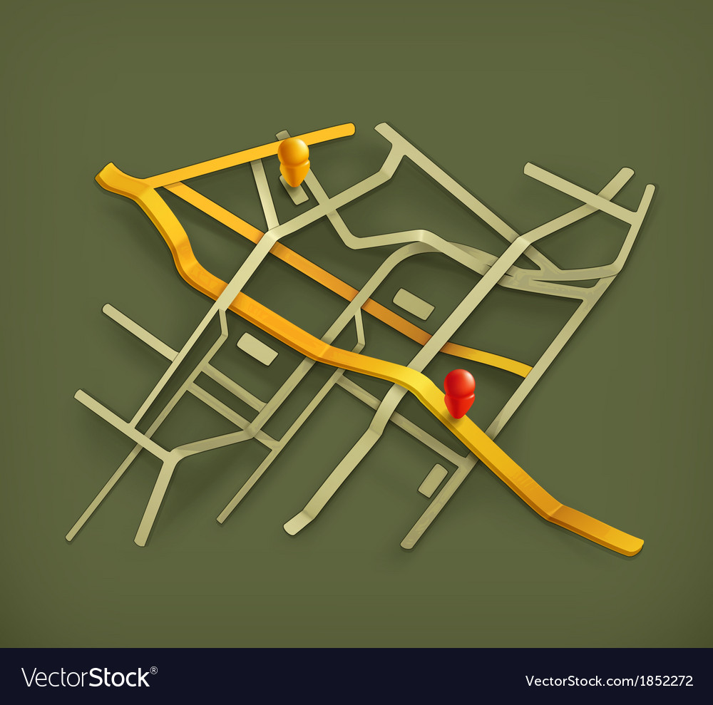 City map on background vector | Price: 1 Credit (USD $1)