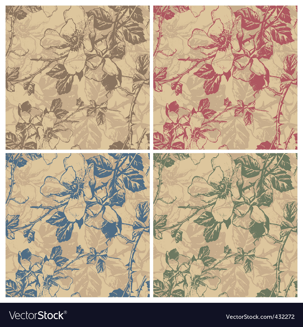 Floral pattern vector   Price: 1 Credit (USD $1)