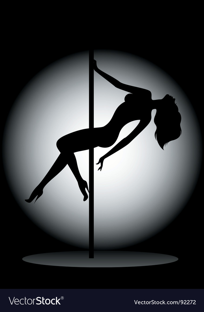 Poll dancer vector | Price: 1 Credit (USD $1)