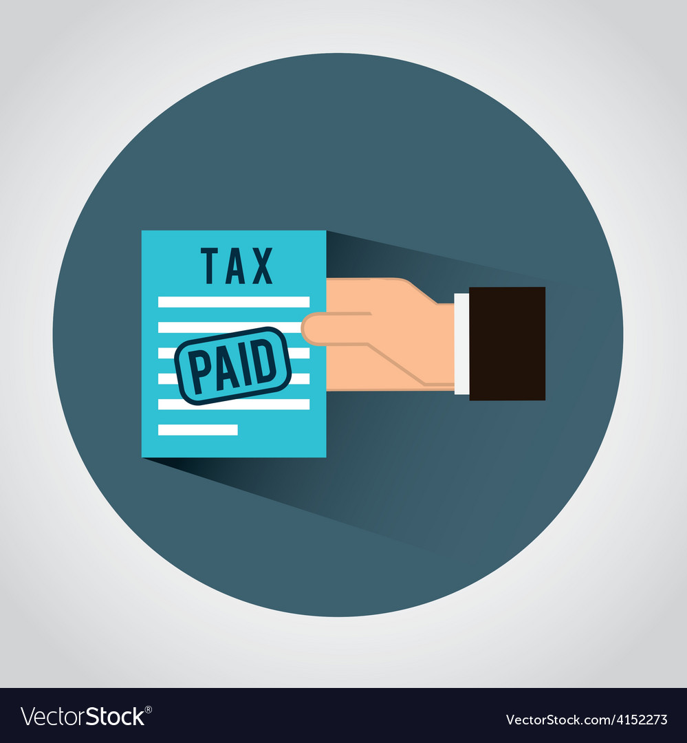 Taxes icon vector   Price: 1 Credit (USD $1)