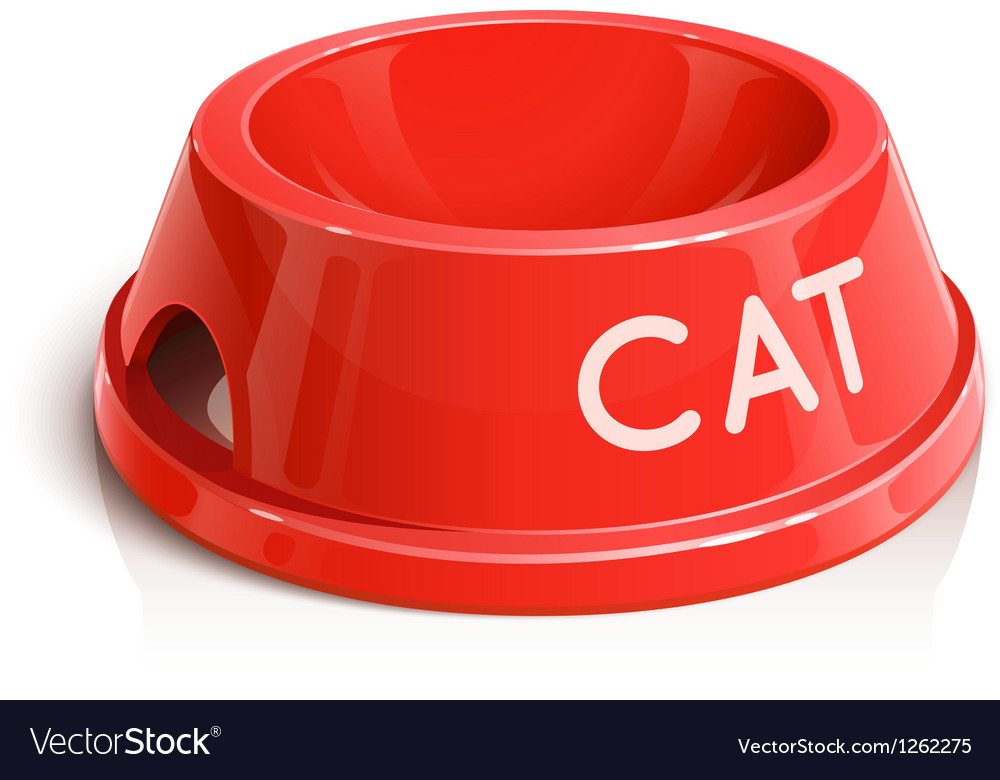 Bowl for animal vector | Price: 1 Credit (USD $1)