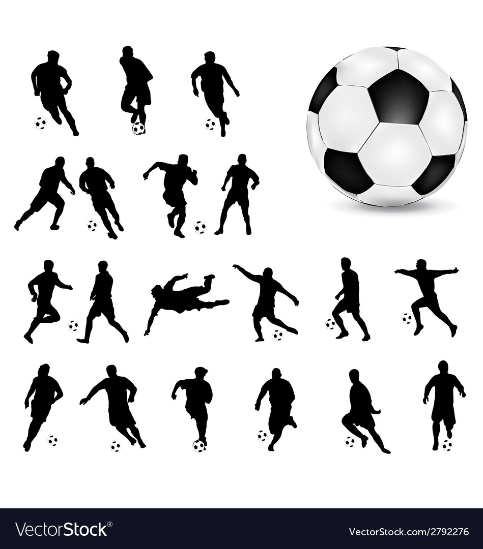 Football 4 vector | Price: 1 Credit (USD $1)