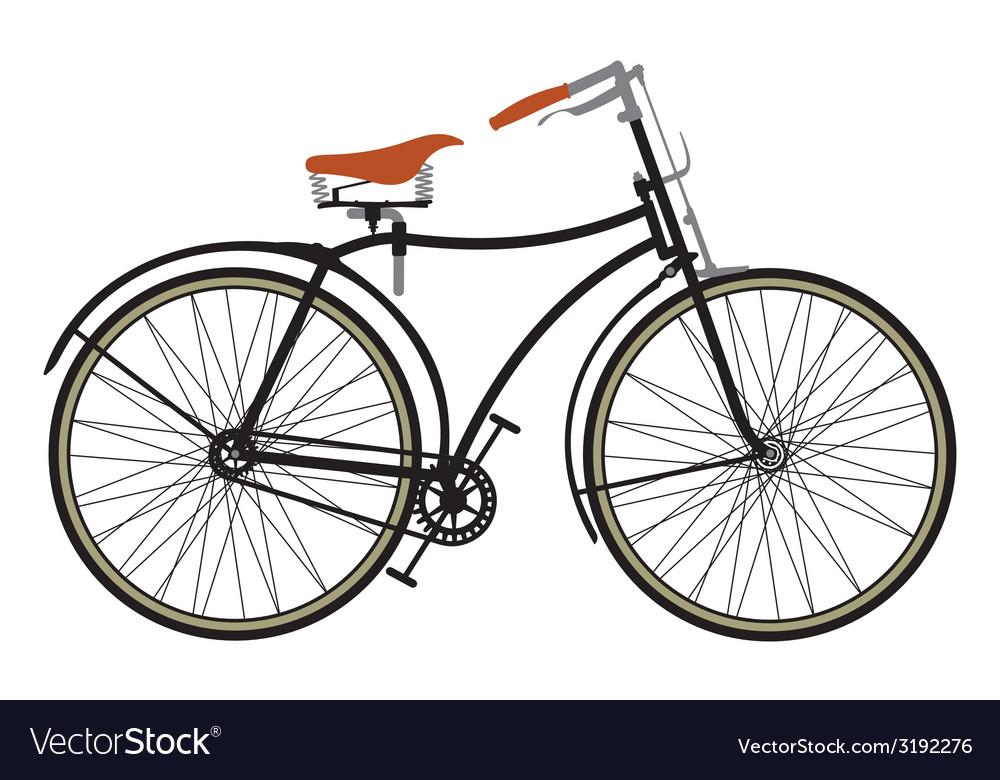 Retro bike1 resize vector | Price: 1 Credit (USD $1)